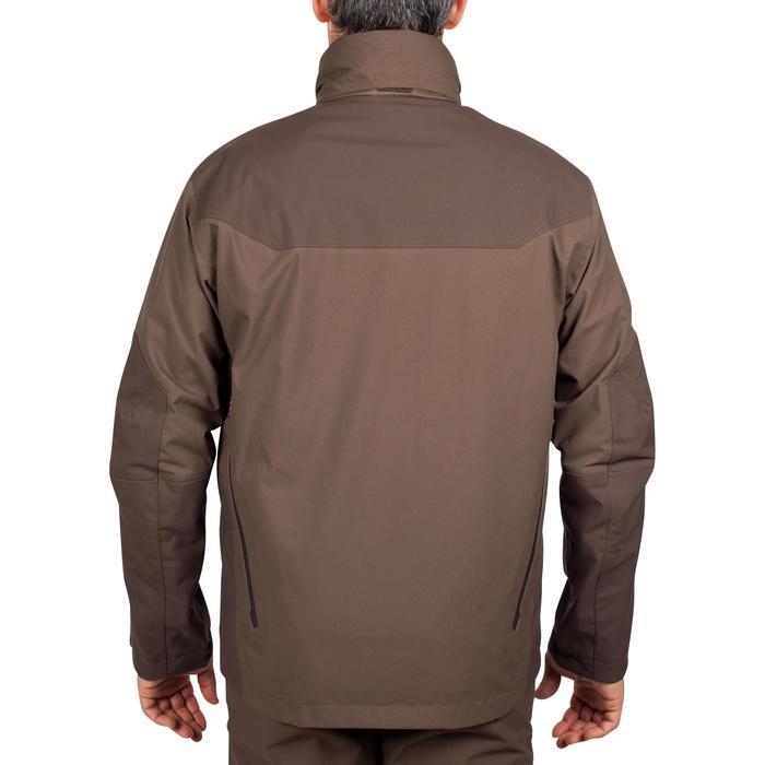 Veste chasse imperméable Renfort 900 marron - 999358