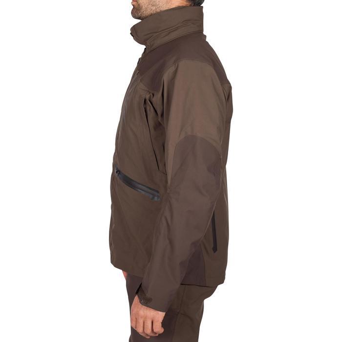 Veste chasse imperméable Renfort 900 marron - 999359