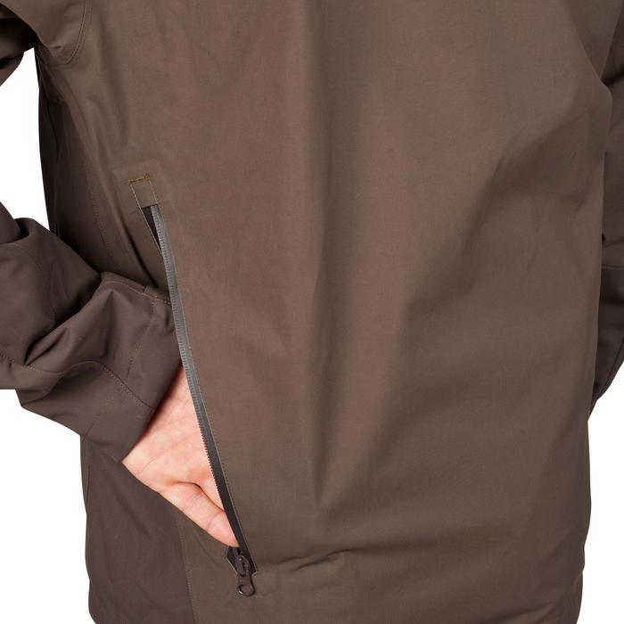 Veste chasse imperméable Renfort 900 marron - 999360