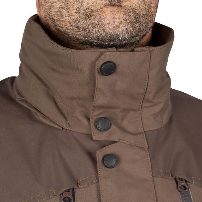 Veste chasse imperméable Renfort 900 marron - 999362