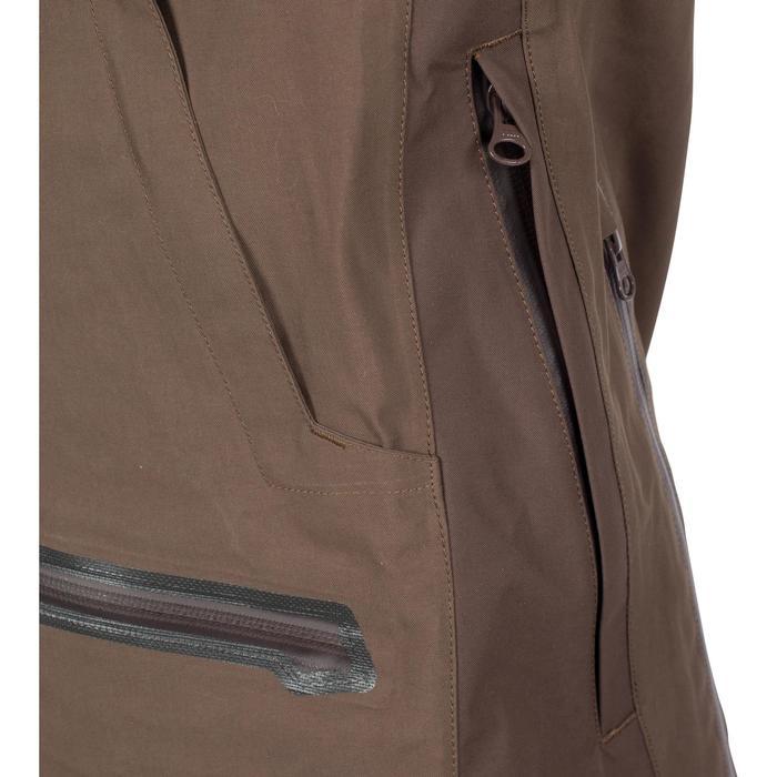 Veste chasse imperméable Renfort 900 marron - 999363