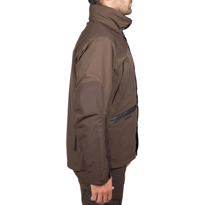 Veste chasse imperméable Renfort 900 marron - 999365