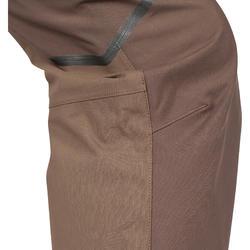 Versterkte waterdichte broek 900 bruin - 999415