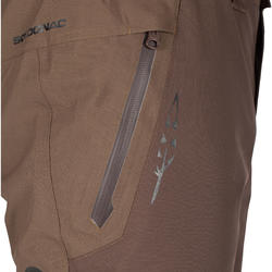 Versterkte waterdichte broek 900 bruin - 999418