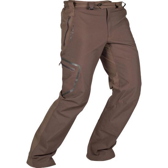 Waterdichte broek voor de jacht Renfort 900 bruin - 999419