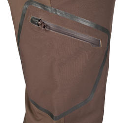 Versterkte waterdichte broek 900 bruin - 999420