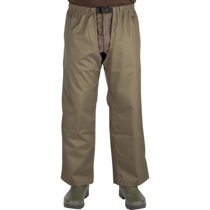 Cuissard chasse renfort 100 vert - 999422
