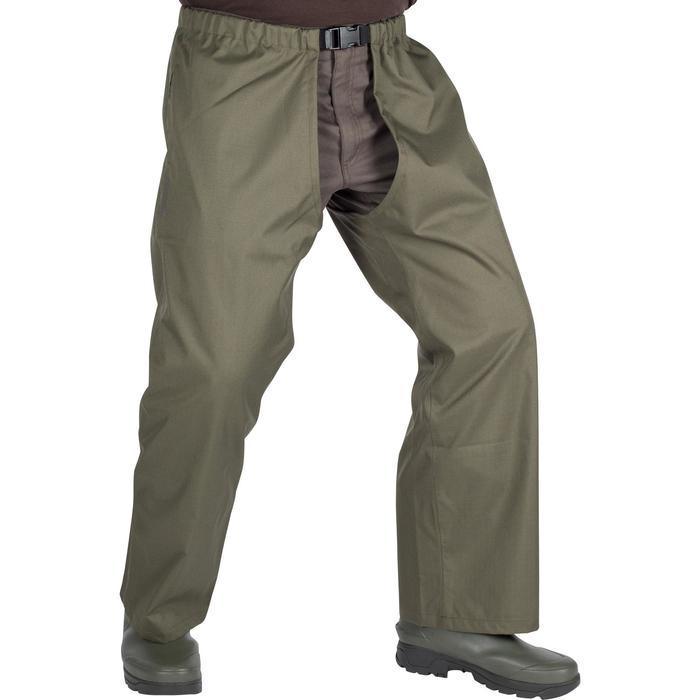 Cuissard chasse renfort 100 vert - 999423