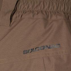 Versterkte waterdichte broek 900 bruin - 999555