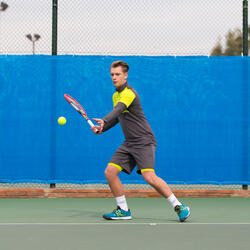 Tennisschoenen heren TS 860 allcourt groen/blauw - 999803