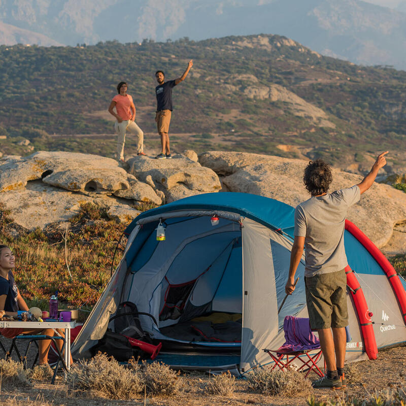 Come verificare che la tenda sia in buono stato prima di partire per il campeggio?