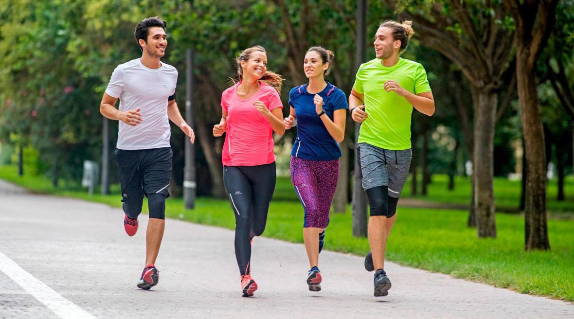 人生很複雜,跑步很簡單,迪卡儂陪你一起慢跑!