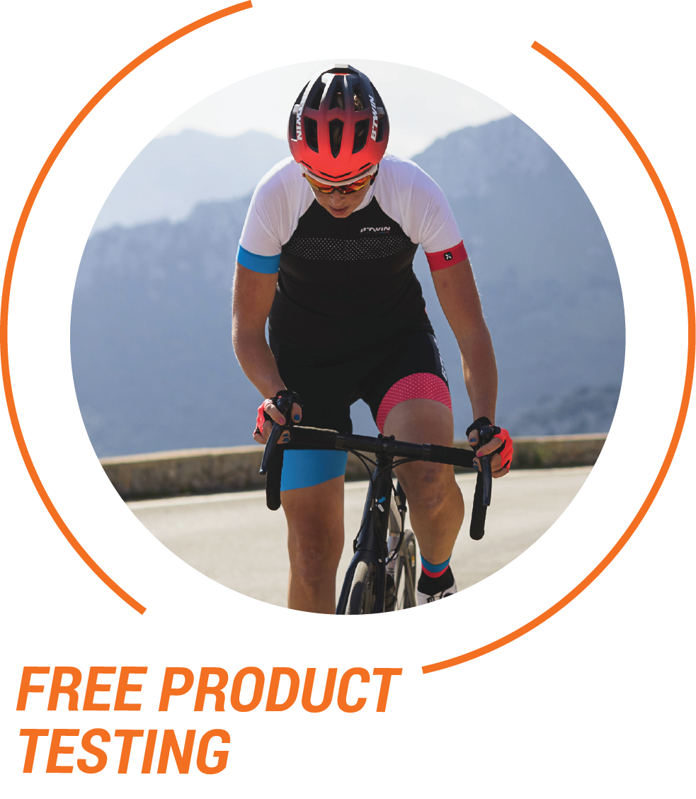 Join Decathlon HK to enjoy our free product testing