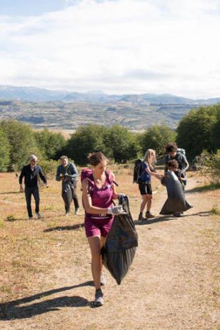quechua eco randonnee ramassage des dechets decathlon