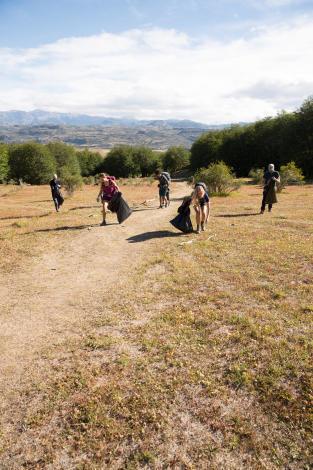Quechua Eco Randonnée - Ramassage des déchets