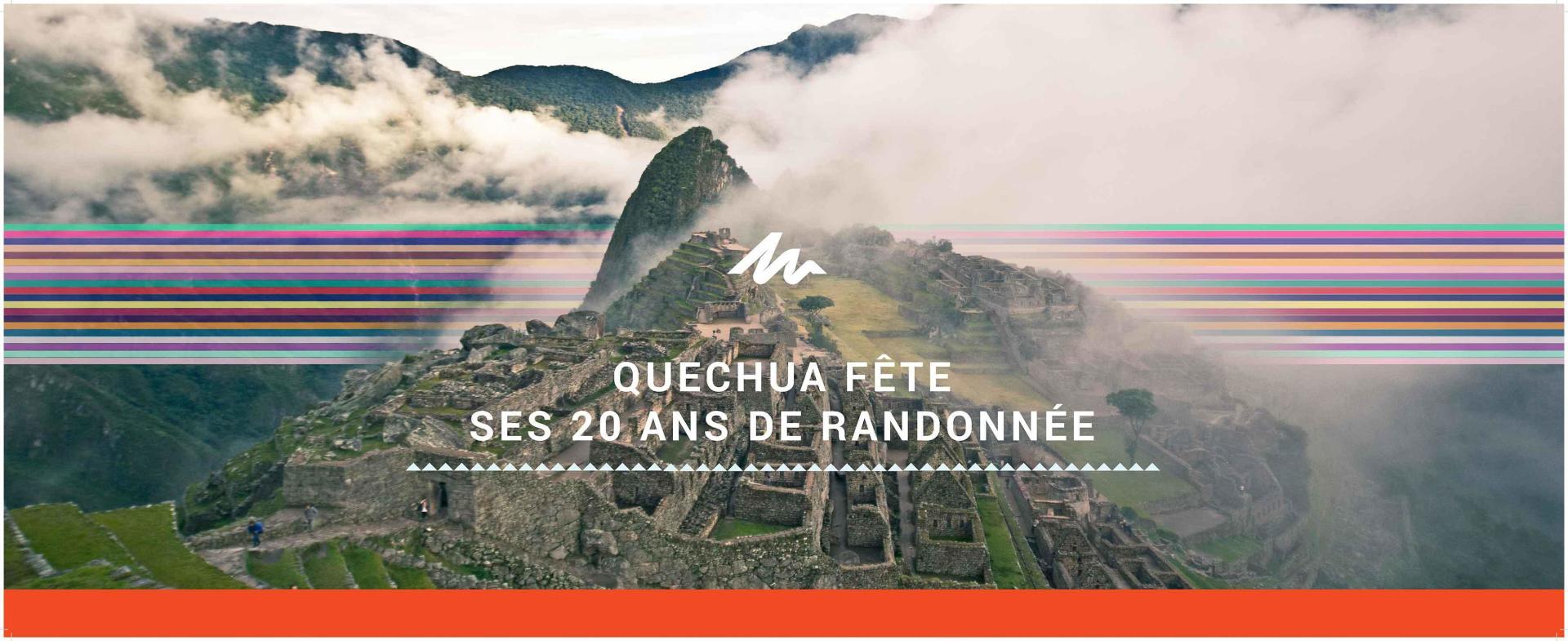 Quechua anniversaire 20 ans