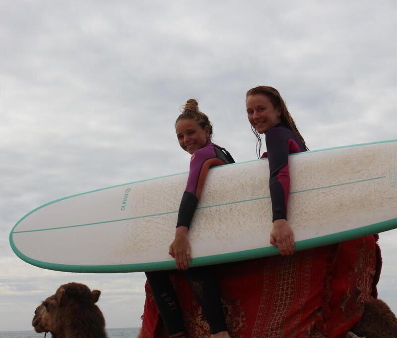 Partir en surf trip en famille