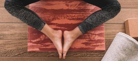 yoga massage pied