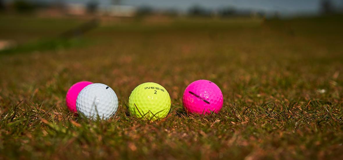 Balles couleur Inesis golf