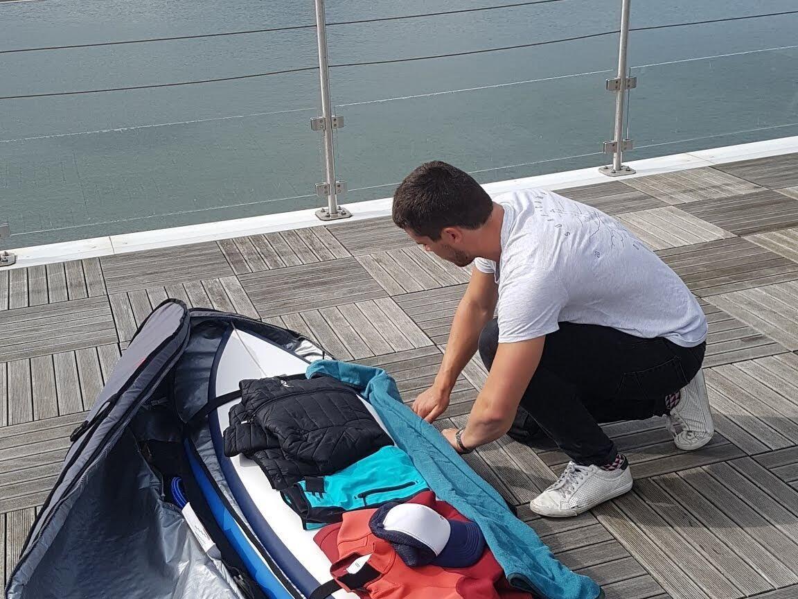 Comment bien préparer son boardbag pour partir en surf trip ?