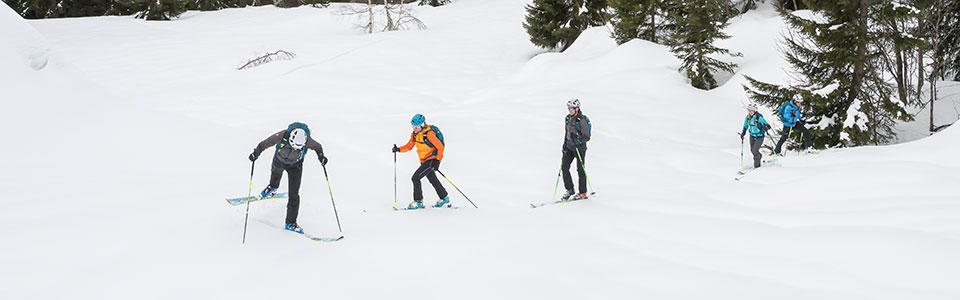 Faire une conversion amont en ski de rando