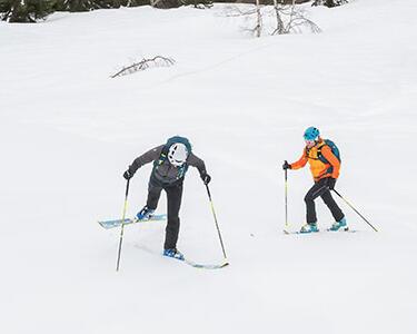 Comment faire une conversion en ski de randonnée