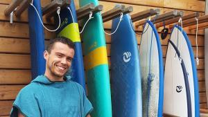Berg je materiaal goed op na een surfsessie!