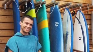 RANGER SON MATÉRIEL DE SURF