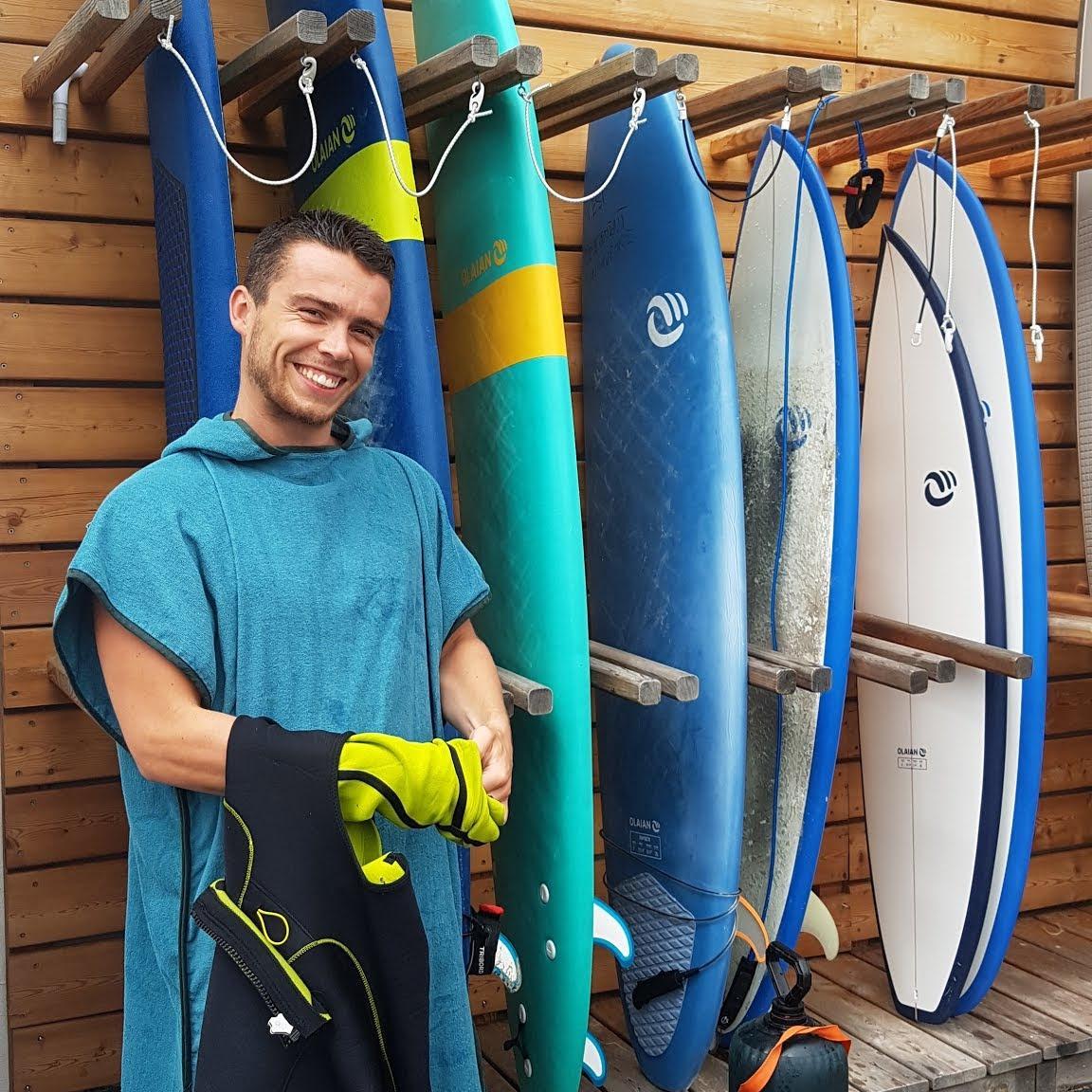 construire son rack de surf