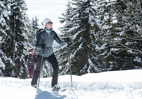 Scopri lo snow hiking con Quechua by Decathlon