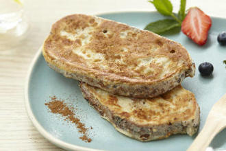 protein-rich French toast