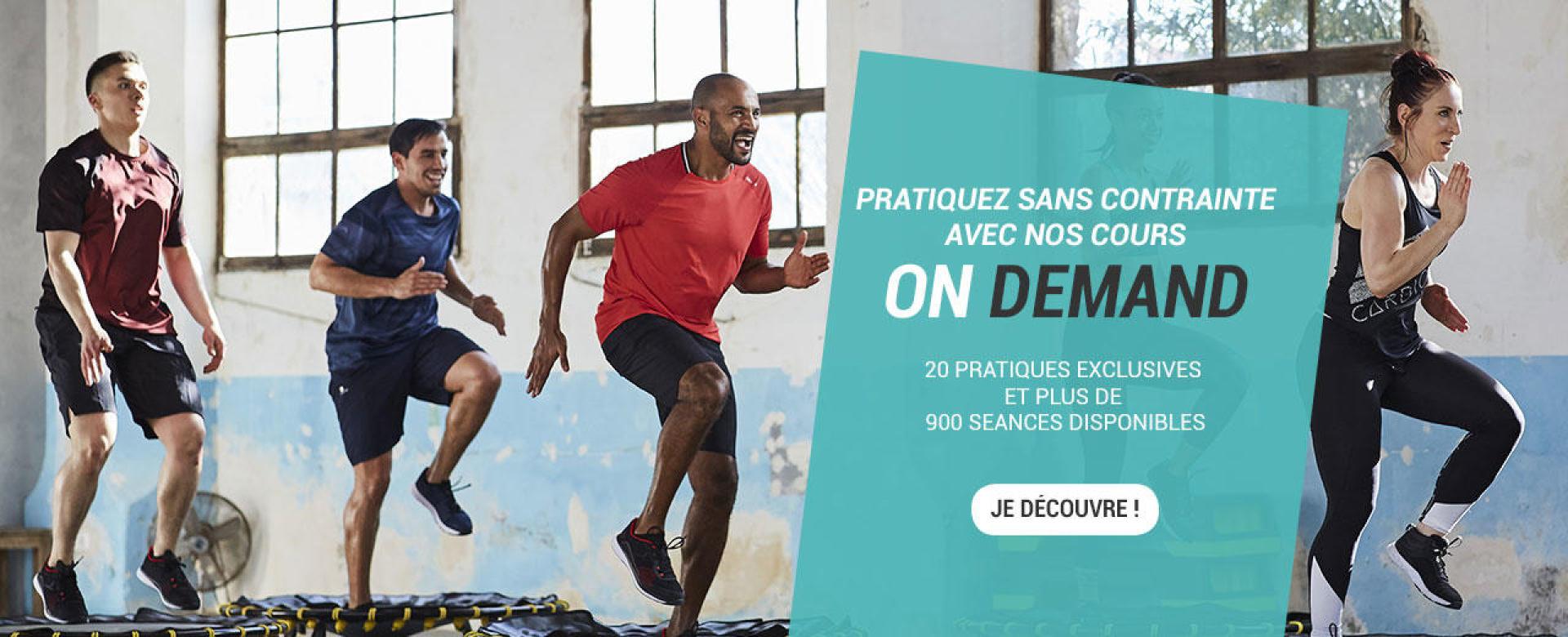 Domyos by Decathlon - Conseils et matériels de Fitness c0df8769bb9