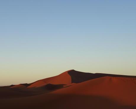 randonnée trek desert maroc sahara dune hurlante