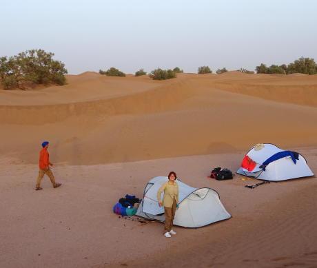 campement desert