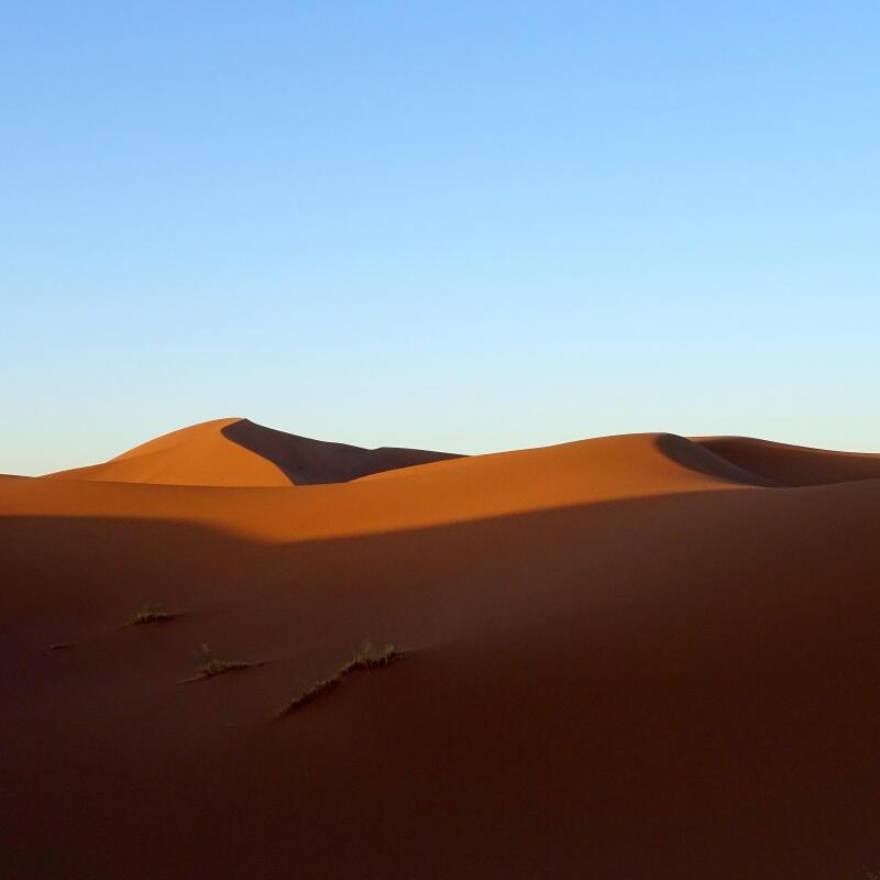randonnée desert sahara maroc