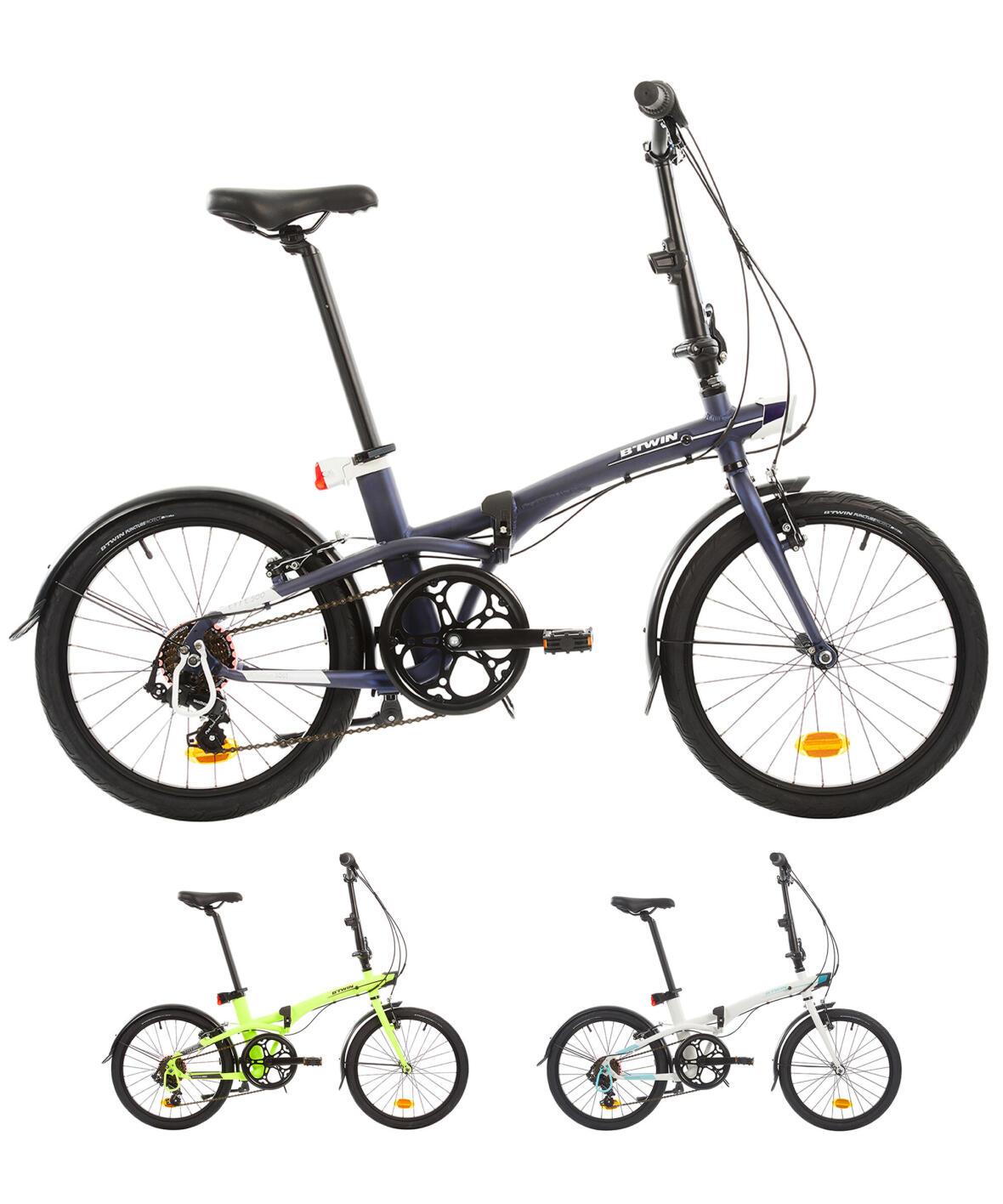 Összecsukható kerékpár TILT 500