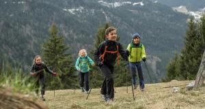 os conselhos quechua para vestir as crianças na caminhada