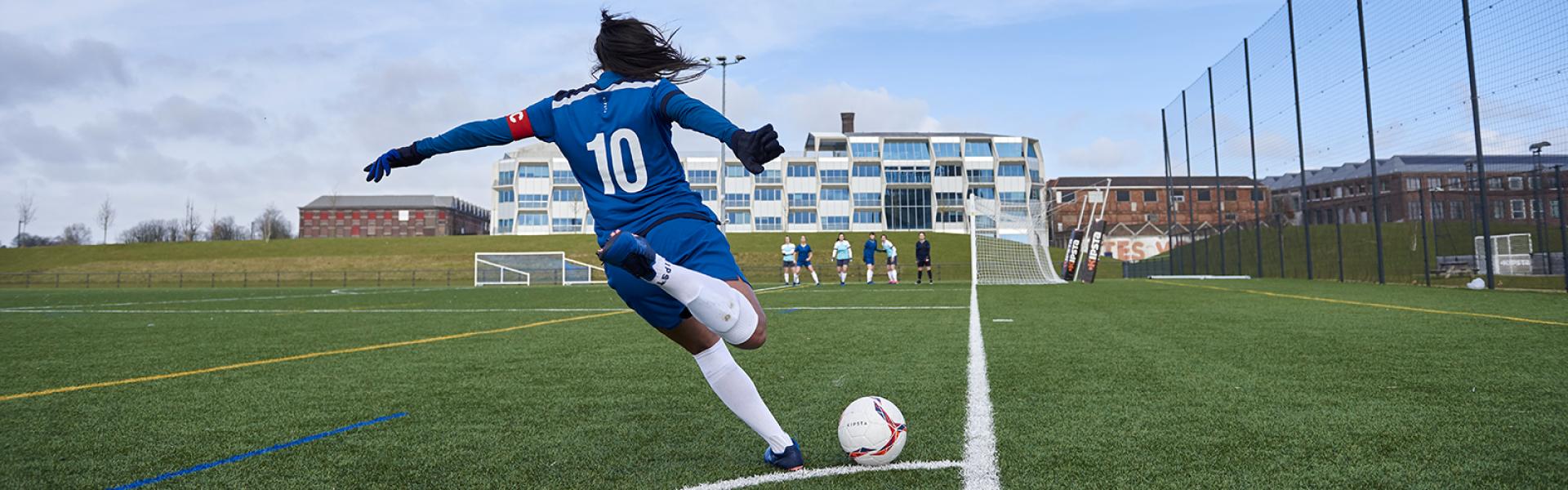 Découvrez notre gamme Football féminin