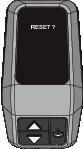 Display Rockrider e-st500 Reset-Modus