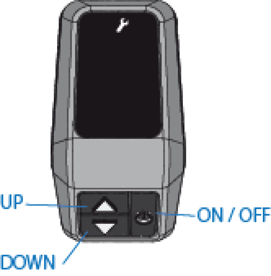 MTB ROCKRIDER e-ST 500 - Accesso parametri
