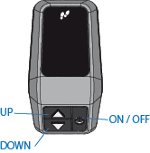 MTB Rockrider e-ST 500 - Display-Modus Fußgänger