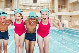 la natation pour les enfants