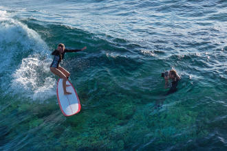 photographe de surf en aquashoot
