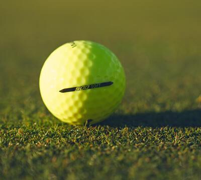 ballen herkennen eerste golfwedstrijd Inesis