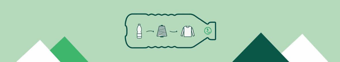 1 fleece, 60 plastic bottles recycled