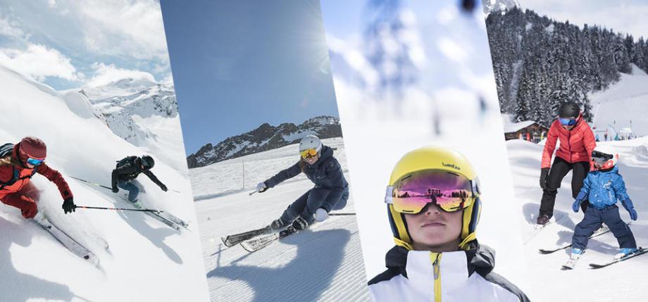 Comment choisir son casque de ski : conseils sur la taille wedze