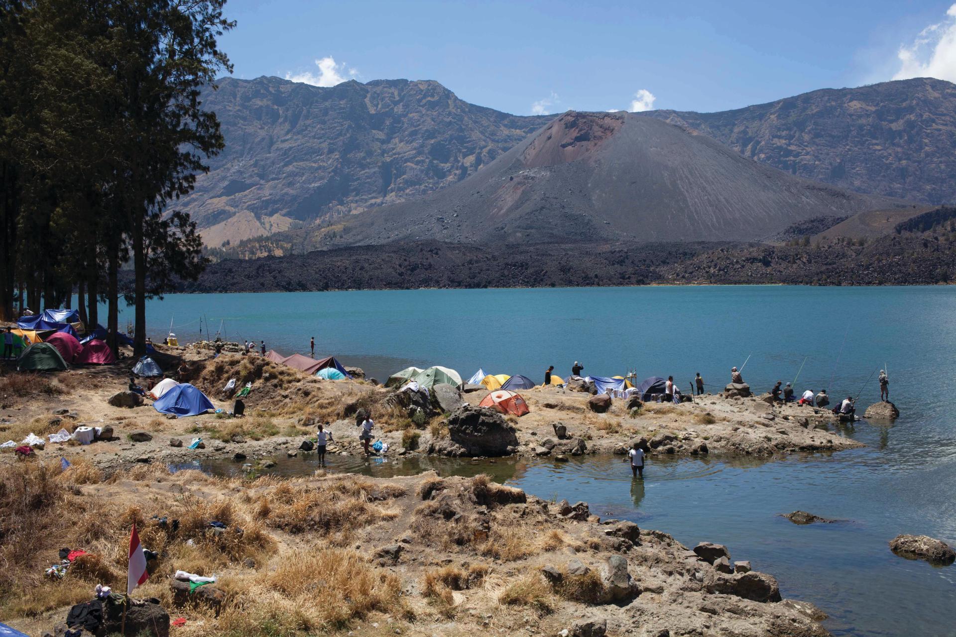 Pèlerinage bords du volcan
