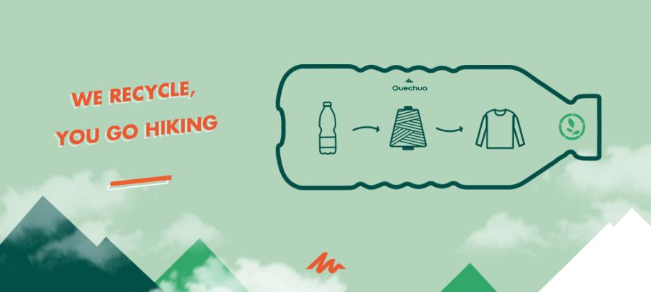 我們賦予寶特瓶第二個生命:製成刷毛衣,也讓你擁有更棒的登山體驗