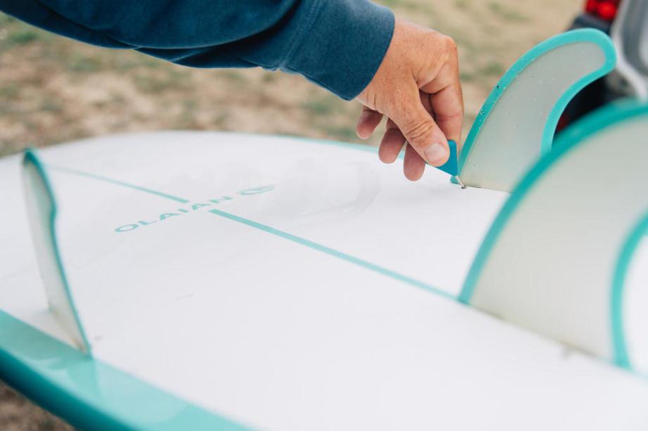 montage des dérives planche de surf