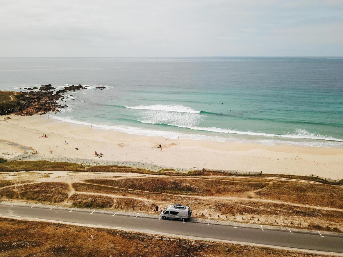 road trip en bretagne pour surfer